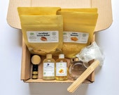 Whipped Body Butter | DIY Kit | Body Butter Kit | Shea Butter Kit | Lip Balm Kit | Shea Butter | Mango Butter | Hair Butter Kit | Gift Set