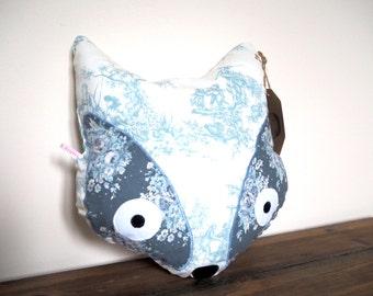 Fox Pillow, Fox Cushion, Fox Nursery Decor, Woodland Nursery,  Animal Pillow, Animal Cushion,  Nursery Pillow, Decorative Pillow