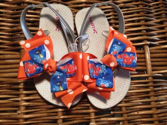 Finding Dory Nemo Toddler Flip Flop Sandals sizes