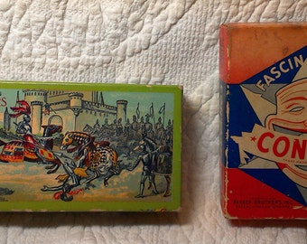 Antique Games; Contack and Checkers