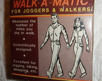 Vintage Pedometer: Walk-A-Matic Made In Japan