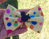 SALE Mickey Ice Cream Bow