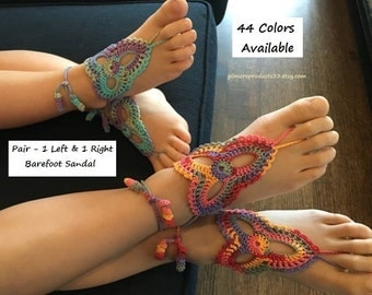 Children Girls Toddlers Crochet Barefoot Sandal Kids Anklet Foot Jewelry Ankle Bracelet Jewelry Birthday Gift Shoes Foot Accessory
