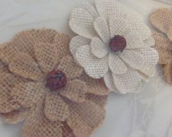 Burlap Sunflowers wedding decor rustic charm DIY package embellishment