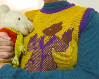 1970s UK Rupert Bear Sweater