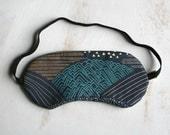 Mountain Dreams Sleepmask Sleep Mask Travel Mask Blue Purple Spa & Relaxation Eye Sleep Mask