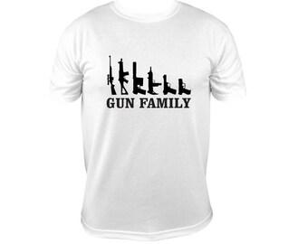 Gun Family (2nd Amendment) T-Shirt
