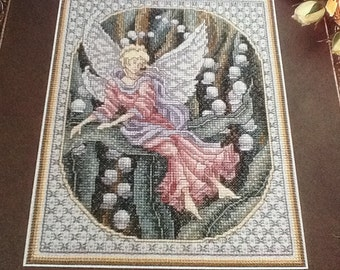 C - Lily Maiden - Friends - Cross Stitch Pattern Only