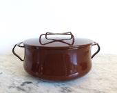 Dansk Kobenstyle Medium Pot Dutch Oven Brown 3 Quart