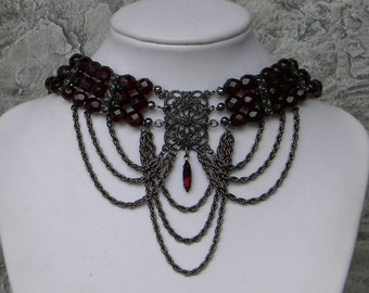 The Garnet Gunmetal Victorian