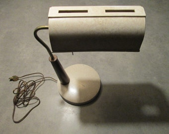 MCM desk lamp, 1960s, retro task light, lighting,  vintage, industrial lighting, Vintage lamp