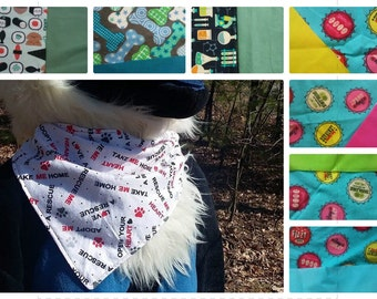 Customized Fursuit Bandannas. New Colors Available!