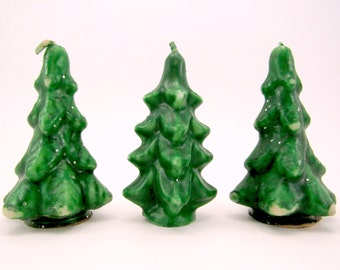 Vintage Gurley Christmas Tree Candles 1970s Christmas Decorations