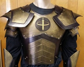 Leather Armor Juggernaut Set with graphic