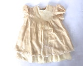 Antique Hand Embroidered Baby Dress