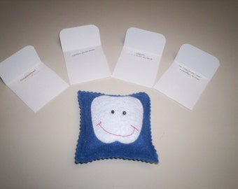 Tooth Fairy Pillow with Notes
