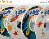 5 Custom Closet Dividers Outer Space CD716 Baby Boy Girl Shower Gift Nursery Clothes Organizers