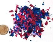 New! Metallic Micro-Confetti - Pink & Blue