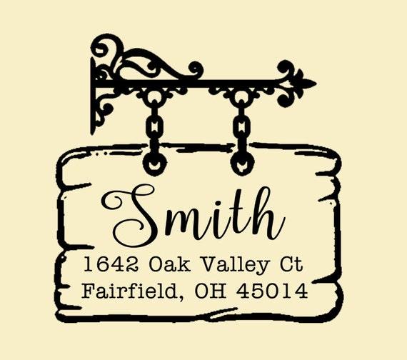 Return address stamp,SELF INKING custom address stamp,personalized wedding address stamp,family address stamp,S19