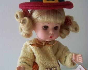 Thanksgiving madame alexander 8 in doll with turkey