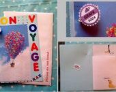 Custom Order for katdep1 - 'Up' Bon Voyage Card