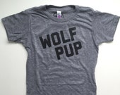 2 Wolf Pup Tees / size 4T
