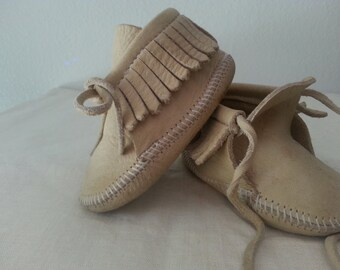 Vintage TAOS Moccasins for Baby