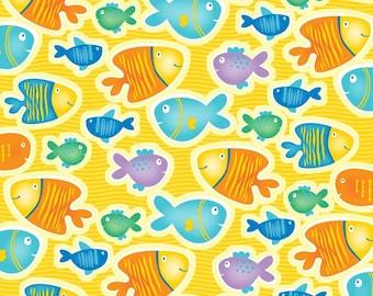 Novelty Fish Fabric Etsy
