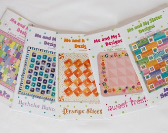 Paper Pattern Bundle #4 - Me and My Sister Designs