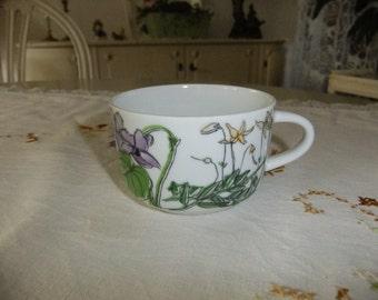 Vintage Swedish 1970s Midsummer tea cup - IKEA - Marquerite Walfridson