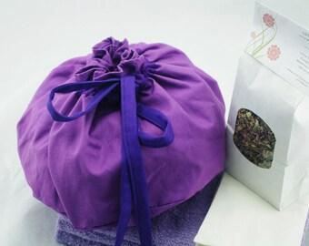 OOAK Lotus Birth Kit - Purple Unlined