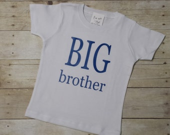 Big Brother Shirt - Little Brother Shirt - Personalized Shirt - Sibling Shirts - Brother Shirt - Pregnancy Announcement Shirt