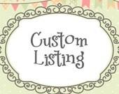 Hand-Painted Chalkboard - Custom Canvas Order