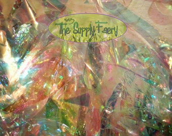 SMALL Scrap Iridescent Film Grab Bag Bundle Free Shipping for Multiple DIY Projects