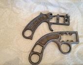 Vintage Allway and Great Neck Saw Metal Handles
