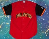 Pittsburgh PIRATES Starter Jersey Size L