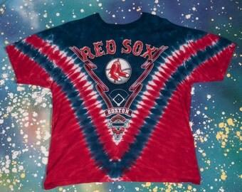 Boston RED SOX Baseball Sports T-Shirt Size Xl