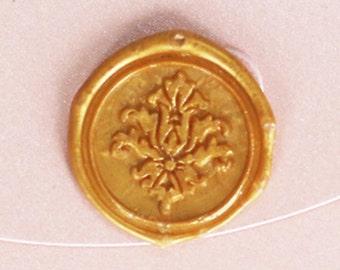 Victorian pattern Wax Seal Stamp/wedding sealing wax/ damask letter seal--WS009