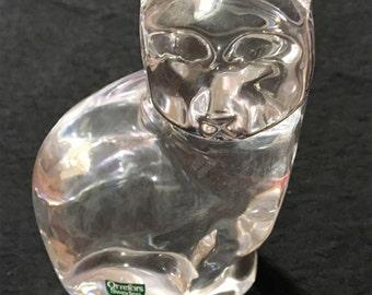 Glass cat.