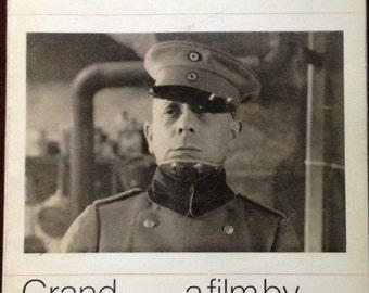 Film script of The Grand Illusion by Jean Renoir.