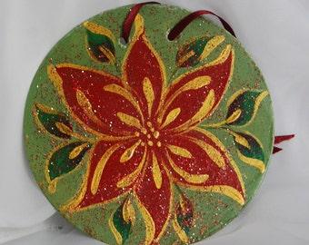 Pointsettia Ornament