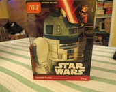 R2D2 star wars battery operated talking plush still in box disney