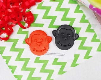 Monkey Crayon Party Favour - Party Bag filler - Mini Gift Set - Wedding Favours - Made to Order - Handmade Crayons - Kids Party Favour