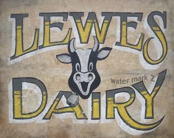 Lewes Delaware Dairy   Print  ,art,decor