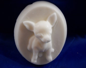 2 Chihuahua Soaps with Gift Bag