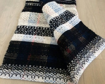 Handwoven Wool Blanket No. 3.3