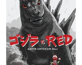 Godzilla vs Red