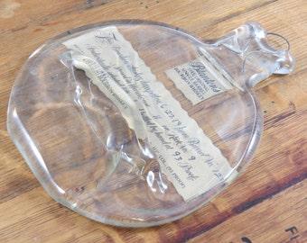 Melted Blanton's Bourbon Bottle