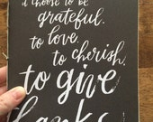 Grateful Musings notebook
