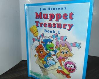 Vintage 1994 Jim Henson's Muppet Treasury Book One